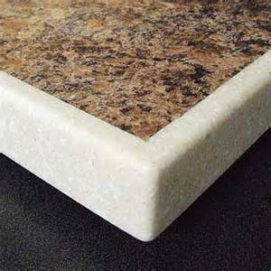 countertop edge trim edge upgrades solid surfacing all about laminate this