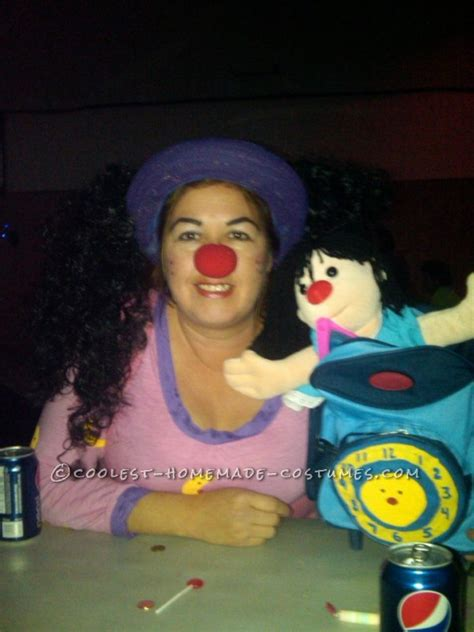molly and the big comfy couch costume loonette from big comfy couch halloween costume