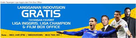 Harga Soccer Channel Indovision tayangan liga inggris indovision merauke 082214495752