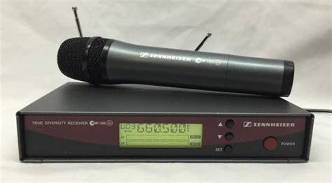 Microphone Wireless Mic Senheiser Ew 545 G2 sennheiser true diversity receiver ew 100 g2 w wireless microphone b band frequency 626 662