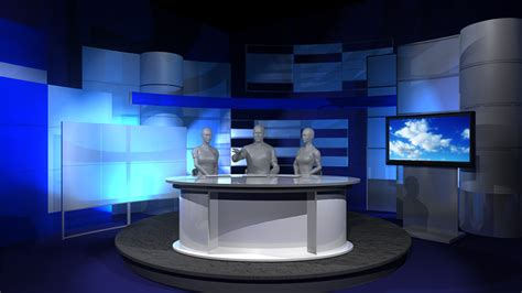 tv studio desk tv set designs news desks