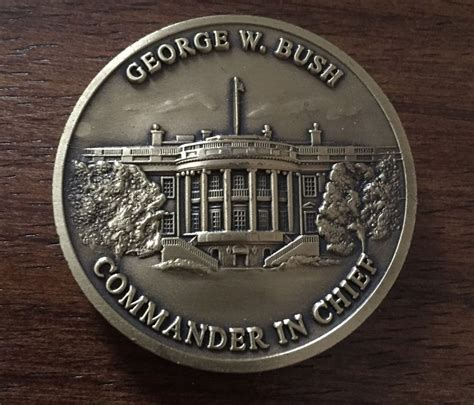 trump presidential makeover presidential challenge coin undergoes a trumpian