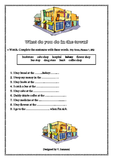 neighbourhood places worksheet community places worksheets for kindergarten danger worksheets and colouring