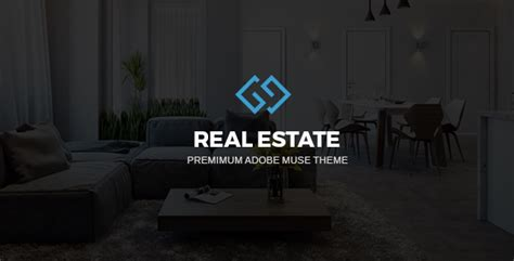 Realarea Adobe Muse Realestate Template By Digitalcenturysf Themeforest Muse Real Estate Template