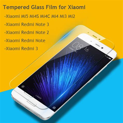 Tempered Glass Screen Guard Redmi 5 Plus premium tempered glass screen protector for xiaomi mi5s