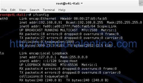 kali linux tutorial network how to enable the network in kali linux virtual box