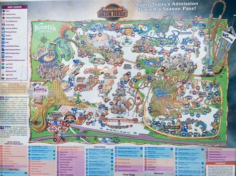 knotts berry farm map knott s berry farm tips top 10 things to do the frugal