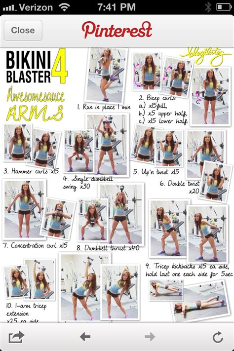 is it good to workout good arm workout fitness motivation pinterest