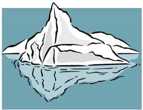 clipart iceberg iceberg clip cliparts co
