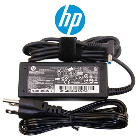 Charger Laptop Hp Pavilion Touchsmart B146tu Hp Envy Spectre 14 3014tu Original hp pavilion 17 e000 series 65w 90w laptop notebook charger power adapter cord ebay