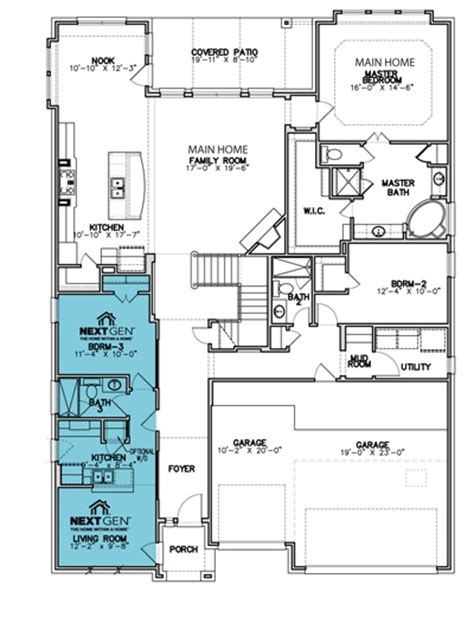 lennar homes floor plans lennar 174 homes a home within a home floor plans pinterest