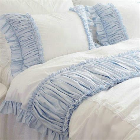 Ruffle Bedding White Ruffle Bedding
