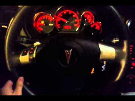 bentley steering wheel at night pontiac g6 steering wheel shaking night video youtube