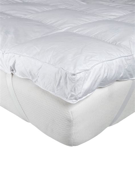 Feather Mattress Topper Reviews by Goose Feather Mattress Topper Homescapes