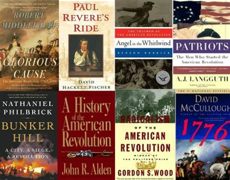 revolution books best books about the american revolution history of