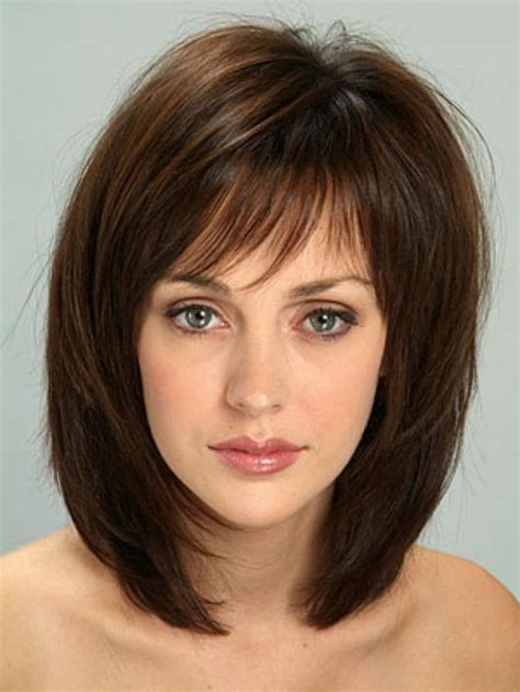 mid length hairstyles for fine hair uk medium hairstyles with bangs for women over 40 with fine