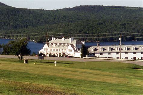 lucerne in maine golf course in east holden maine usa