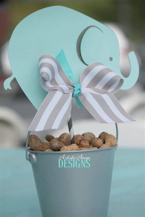 Elephant Baby Shower Decorations by 25 Best Ideas About Baby Shower Centerpieces On