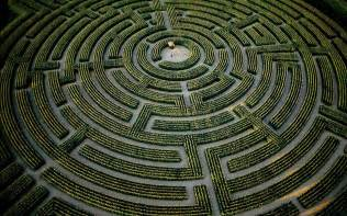 shelby michigan labyrinth maze photography wallpaper 61186 1680x1050 px