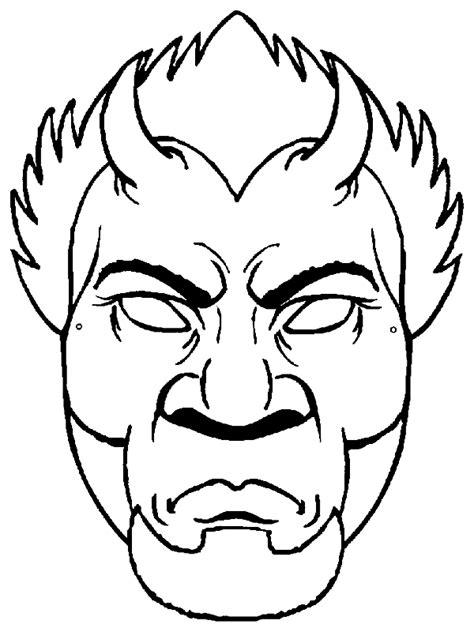 dibujos para colorear de halloween calabazas mascaras carnaval ninos masque a imprimer et colorier
