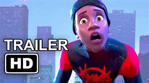 nedlasting filmer spider man into the spider verse gratis animated movie trailer spider man into the spider verse