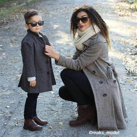 mother son matching ideas that you can try for your