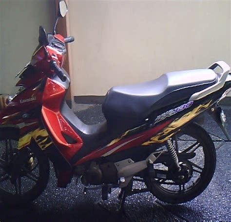 Sparepart Kawasaki Zx 130 kawasaki zx 130 vr sepeda motor indonesia