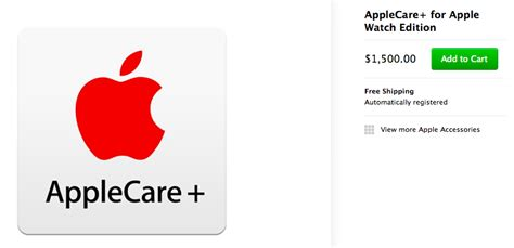 apple guarantee applecare pricing for watches revealed 1 500 for
