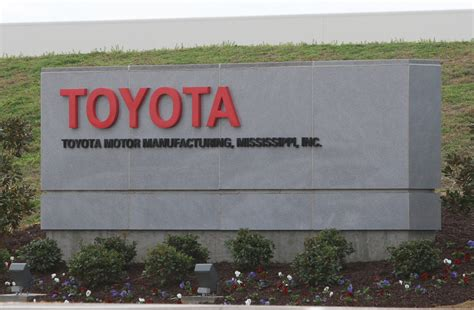 Toyota Blue Springs Ms Toyota Manufacturing Tupelo Mississippi