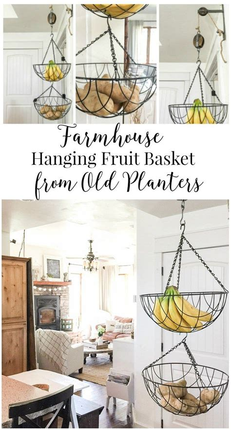 25 best ideas about hanging fruit baskets on