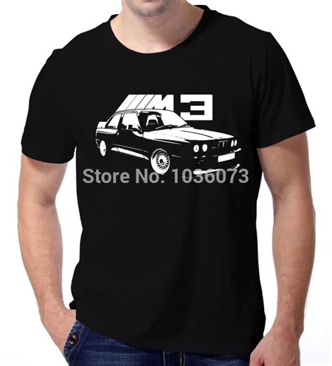 T Shirt My Car 01 new arrival fashion t shirt for bmw e30 m3 classic car t shirts 100 cotton sleeve