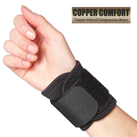 copper comfort copper comfort copper infused wrist wrap ebay