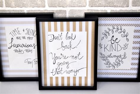 diy picture matting washi tape picture frame mats diy project decorating idea