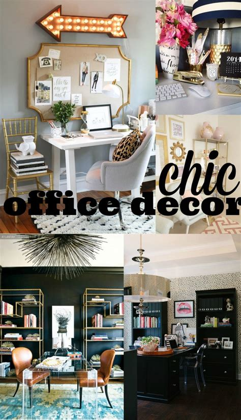 trendy office decor chic office decor chic everywhere