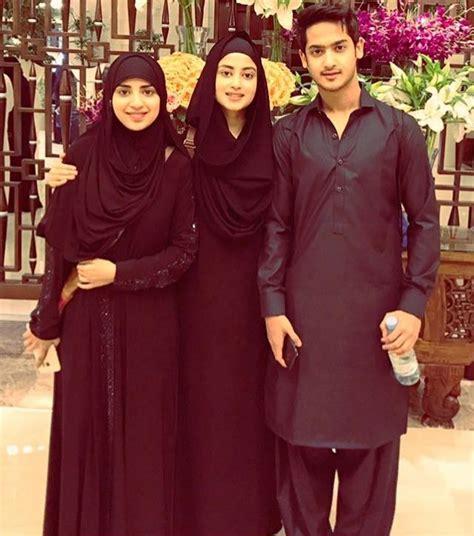 sajal ali family sajal ali with family www pixshark com images