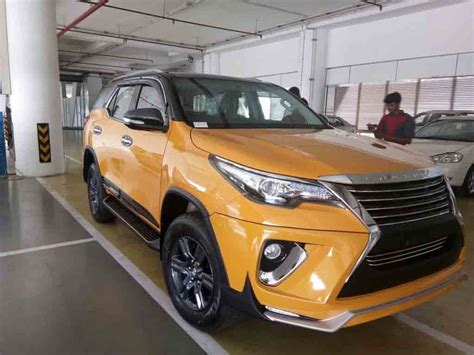 Grill Model Raptor Grand Fortuner custom toyota fortuner in india with nippon kit