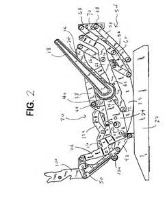 lane recliner mechanism diagram patent us6945599 rocker recliner mechanism google patents