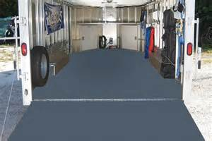 G Floor Garage by Roll Out Trailer Flooring Vinyl Trailer Flooring