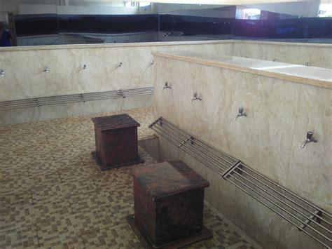 Karpet Tempat Wudhu subhanallah megahnya masjid namira lamongan deru maju