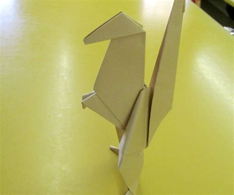Origami Droid - wars origami battle droid design 2
