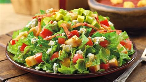 Images Of Salads With Dressing