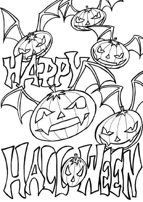 free halloween coloring pages downloads download happy halloween free printable pumpkin coloring
