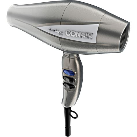 Hair Dryer By Conair conair 1875 watt mid size dryer black model 247wb