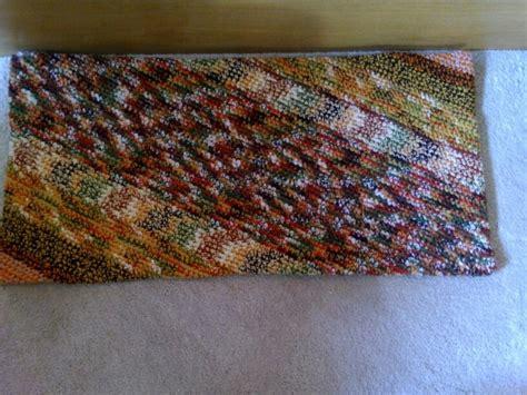 crochet rectangle rug crochet magic rectangle rug reversible rug