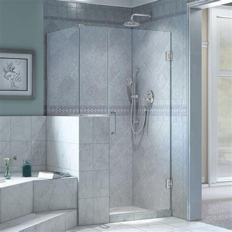 Unidoor Shower Door Dreamline Prime 38 In X 38 In X 74 75 In Framed Sliding Shower Enclosure In Chrome With