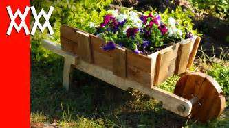 make a rustic wheelbarrow garden planter easy diy weekend