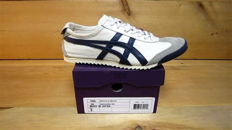 Onitsuka Tiger Mexico Deluxe Navy Nippon Made new onitsuka tiger nippon made mexico 66 birch