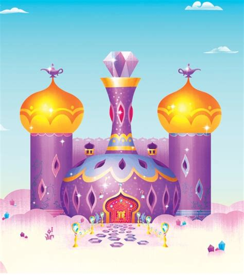 shimmer  shines genie bottle home  zahramay falls    genies   pets