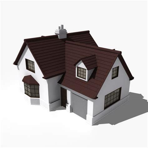 house home 3d obj house building obj