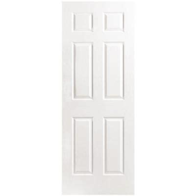 home depot hollow interior doors masonite 30 in x 80 in textured 6 panel hollow